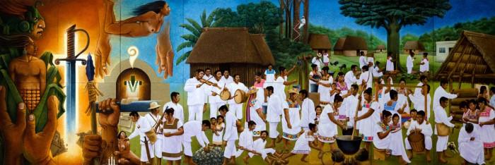 Maya Cultural Mosaic