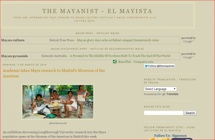 The Mayanist